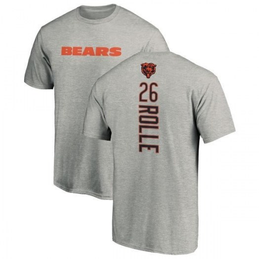 Antrel Rolle Chicago Bears Men's Backer T-Shirt - Ash